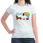 Who's the Weenie Now Jr. Ringer T-Shirt
