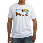 Who's the Weenie Now Fitted T-Shirt