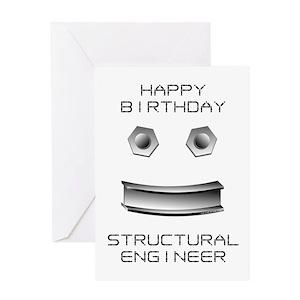 Birthday Engineer Greeting Cards