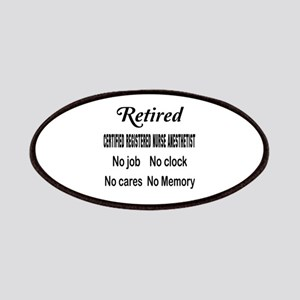Retired Certified Registered Nurse Anestheti Patch