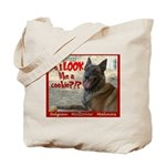 Malinois Mallomar Cookie Tote Bag