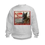 Malinois Mallomar Cookie Kids Sweatshirt