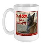 Malinois Mallomar Cookie Large Mug