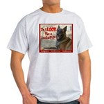 Malinois Mallomar Cookie Ash Grey T-Shirt