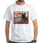 Malinois Mallomar Cookie White T-Shirt