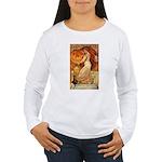 Pumpkin Head Women's Long Sleeve T-Shirt