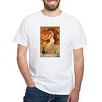 Pumpkin Head White T-Shirt