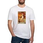 Pumpkin Head Fitted T-Shirt