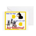 Malinois NOT Mallomar Greeting Cards (Pk of 10