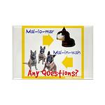 Malinois NOT Mallomar Rectangle Magnet (10 pack)