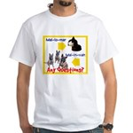 Malinois NOT Mallomar White T-Shirt