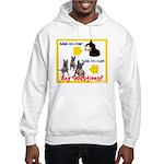 Malinois NOT Mallomar Hooded Sweatshirt