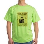Billy The Kid Green T-Shirt