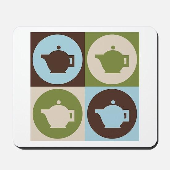Tea Pop Art Mousepad