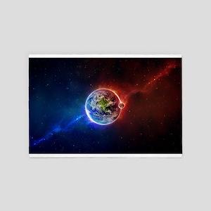 Amazing Universe 4' x 6' Rug