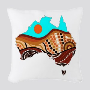 AUSSIE Woven Throw Pillow