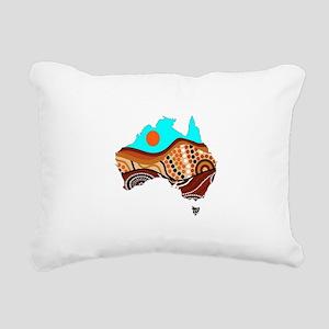 AUSSIE Rectangular Canvas Pillow