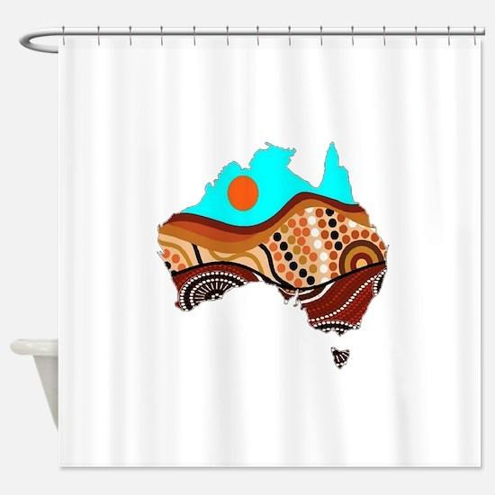 AUSSIE Shower Curtain