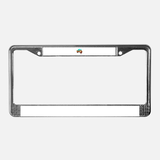 AUSSIE License Plate Frame