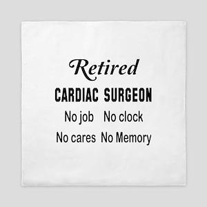 Retired Cardiac Surgeon Queen Duvet