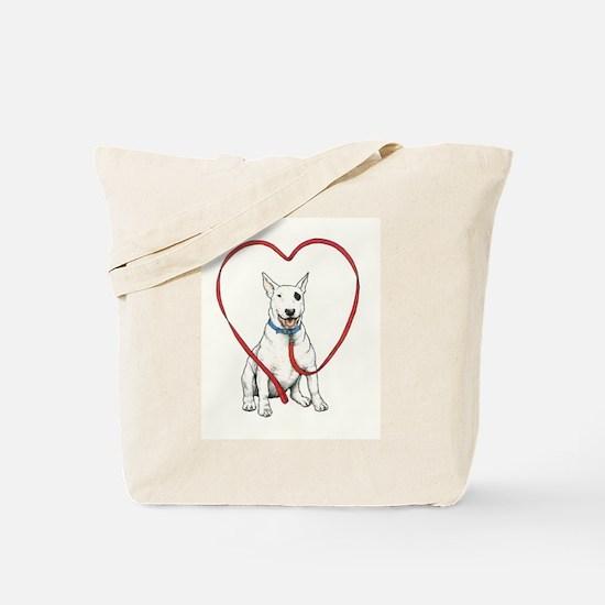 Love Your Bull Terrier Tote Bag
