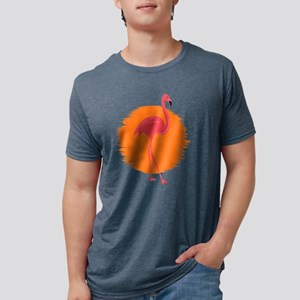 Cool Vintage Flamingo In The Sun T-Shirt