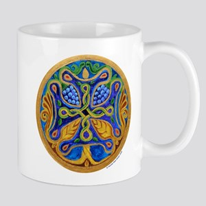Armenian Tree of Life Cross Mandala Mug