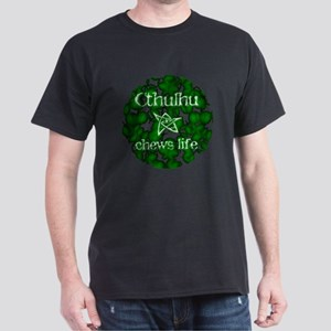 Cthulhu - Chews Life Dark T-Shirt