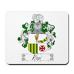 Rizzi Family Crest Mousepad