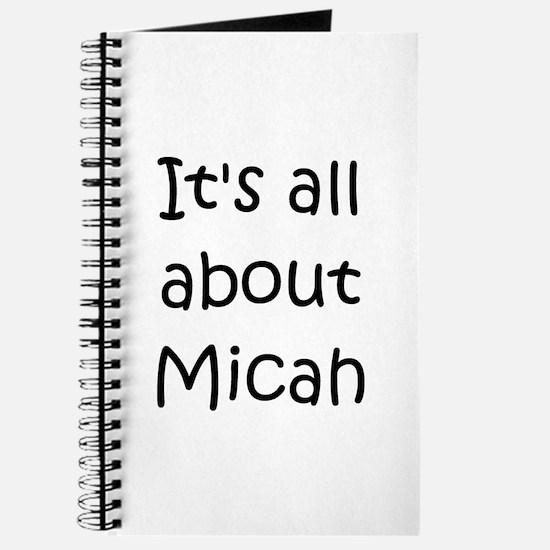 Unique Micah Journal