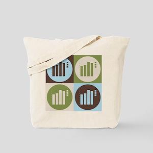 Statistics Pop Art Tote Bag