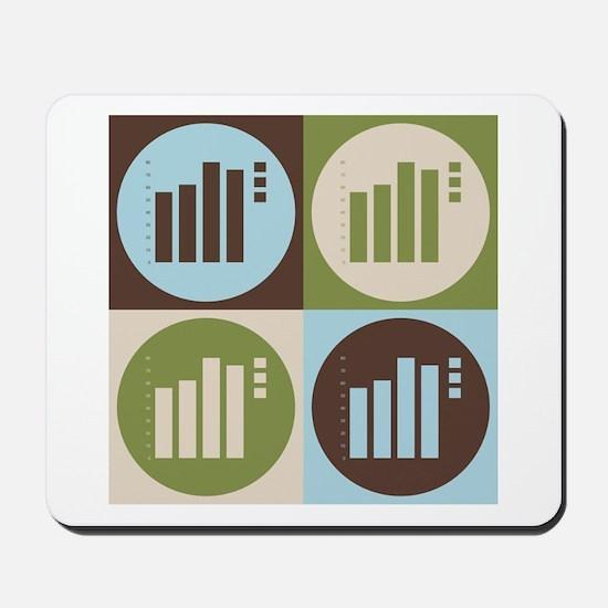 Statistics Pop Art Mousepad