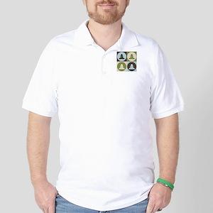 Spying Pop Art Golf Shirt