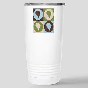 Speech Therapy Pop Art Stainless Steel Travel Mug
