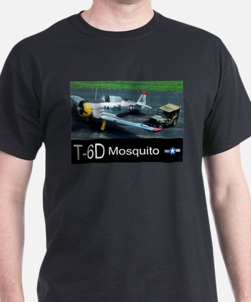 T-6 Mosquito Aircraft T-Shirt