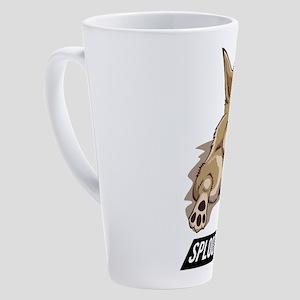 Chiweenie Stretching Sploot Life 17 oz Latte Mug