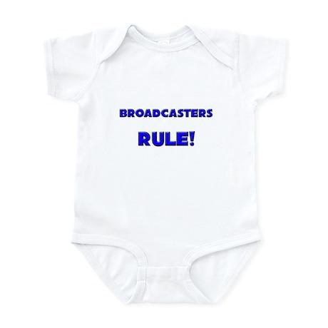 Broadcasters Rule! Infant Bodysuit