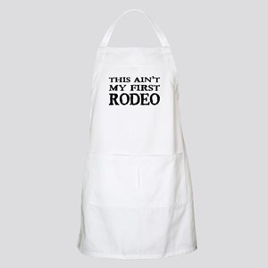 First Rodeo BBQ Apron