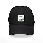 One Love Cbd Logo Baseball Black Cap With Patch