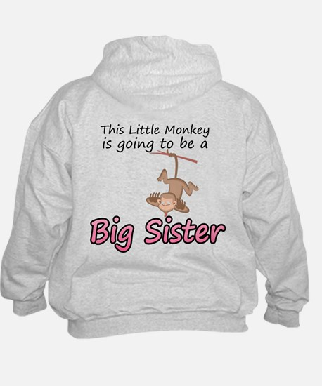 secret-this little monkey Big Hoodie
