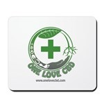 One Love CBD logo Mousepad