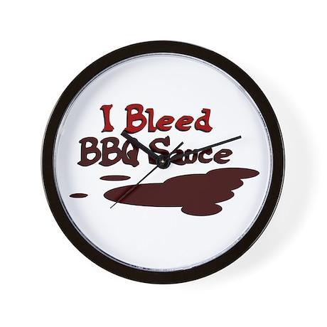 I Bleed Sauce Wall Clock