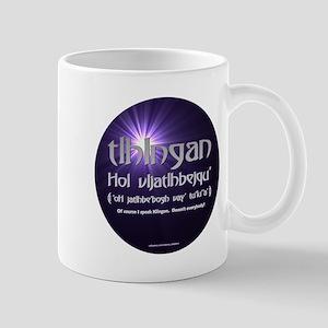 I Speak Klingon Mug
