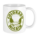Colorado For McCain (Green) Mug