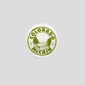 Colorado For McCain (Green) Mini Button