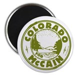 Colorado For McCain (Green) Magnet