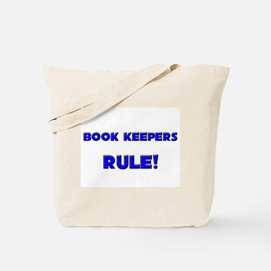 Book Keepers Rule! Tote Bag