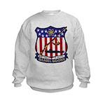 USS DANIEL BOONE Kids Sweatshirt