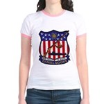 USS DANIEL BOONE Jr. Ringer T-Shirt