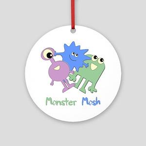 Monster Mosh Ornament (Round)